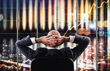 sistema de negocios de tela virtual