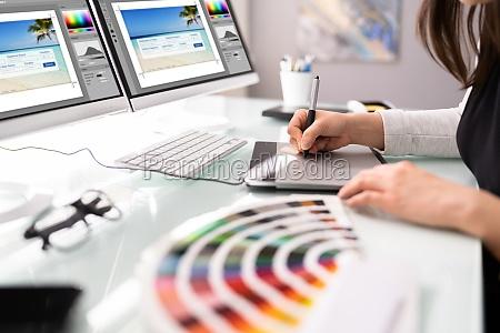 designer web grafico