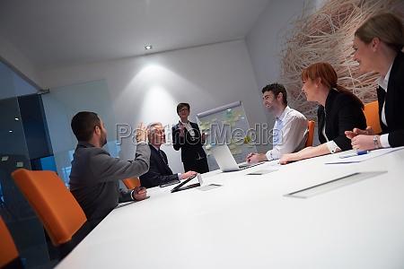 grupo de pessoas de negocios em