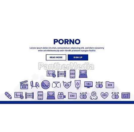 porno film industry landing header vector