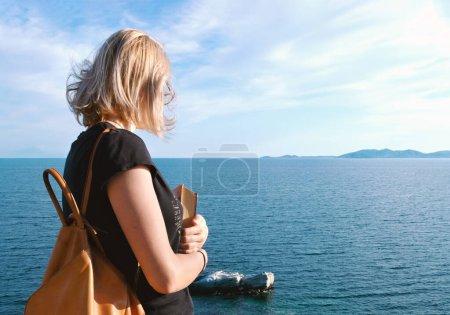 saco ceu dia exploracao viagens menina