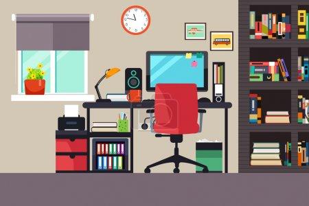 tabela, vetor, Computador, Ilustração, espaço, negócios - B127229264