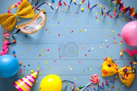 Cor, diversão, Entretenimento, azul, fundo, colorido - B139880278