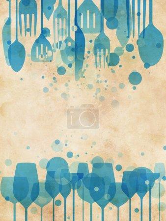 bar, Entretenimento, azul, fundo, colorido, na - B12097128