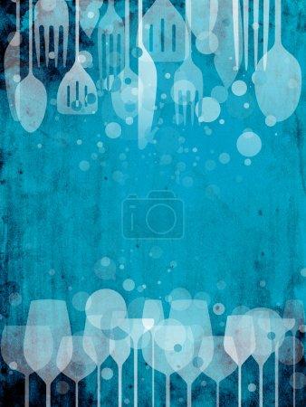 bar, Entretenimento, azul, fundo, colorido, na - B12097138