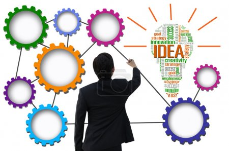 projeto, presente, negócios, humano, Sucesso, Eficiência - B36872581
