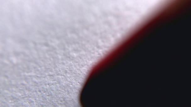 vermelho branco grafico close up macro