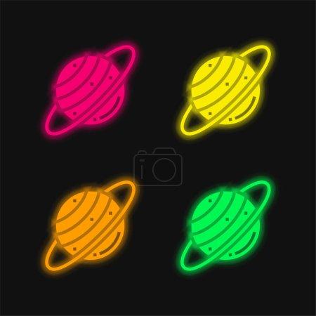 verde, Vermelho, Amarelo, vetor, espaço, Natureza - B471158882